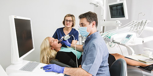 The doctors of our clinic have been using CEREC technology in their practice since 1995, as soon as the first generation of this technology appeared in Riga, Latvia. Several generations of CEREC have changed, since that time, but the technology is constantly improving, meeting and exceeding the increasingly high requirements of patients and doctors.