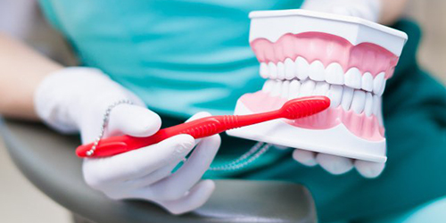 The procedure includes the removal of soft and hard dental plaque (tartar above and below the gums), teeth polishing, flossing, and application of fluoride-containing materials. As well are performed diagnostics and treatment of gingival, bone pockets, determination of CPITN index and hygiene index (Hi).